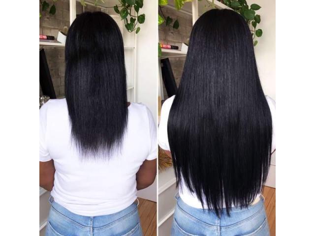 Pose d'extensions cheveux à domicile