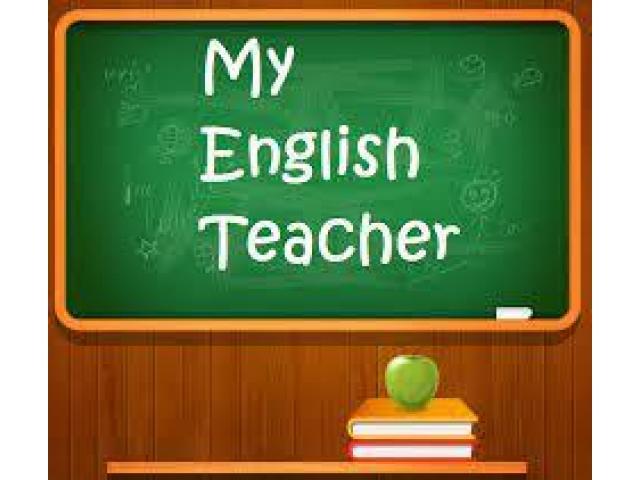 Anglaise donne cours en privé, entreprise ou école