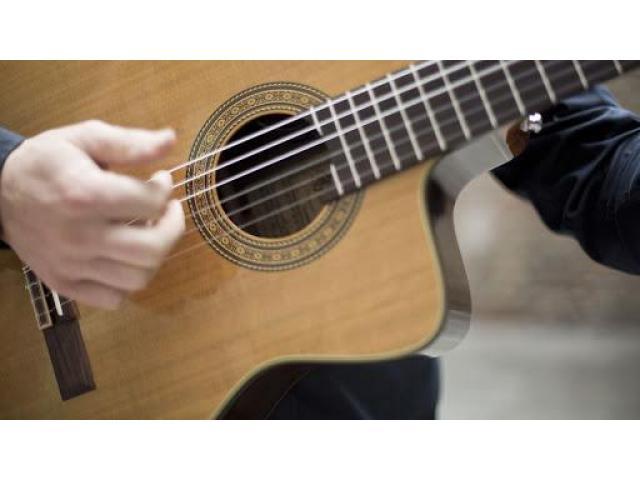 Cours de guitare a domicile