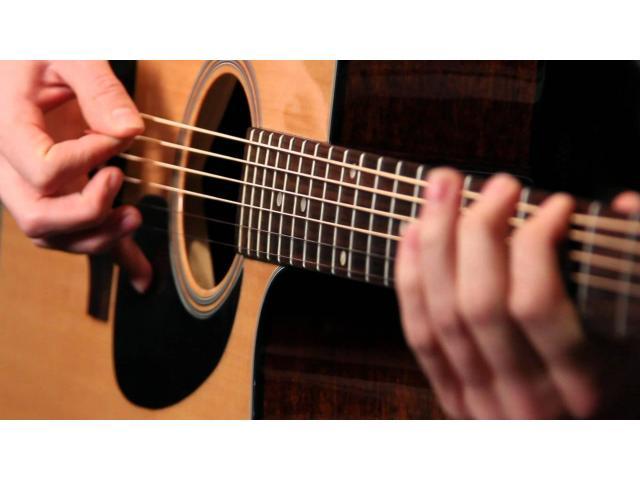 Cours de guitare et solfège tout style