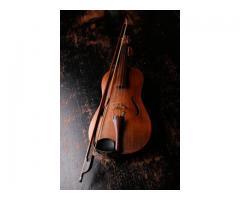 Leçon de violon pour débutant