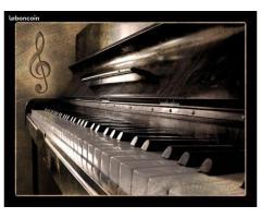 Cours particuliers de piano et solfège - Gap (05000)