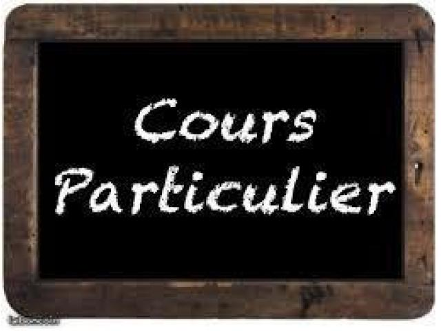 Cours particuliers rattrapages