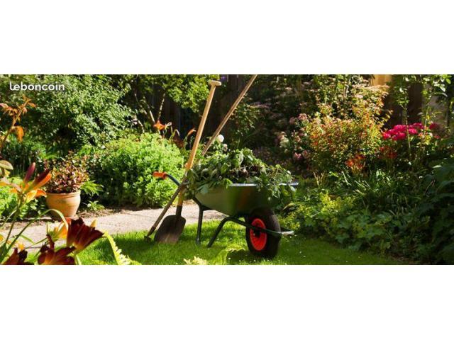 Jardinier avec 10 ans d'expériences