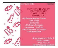 Esthétcienne et prothesiste ongulaire à domicile - Fercé-sur-Sarthe (72430)