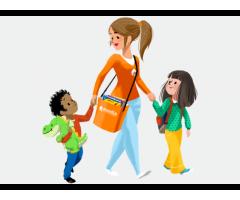 Garde en Sortie d'école d'un enfant de 5 ans (12h30/sem.) - Paris (75)
