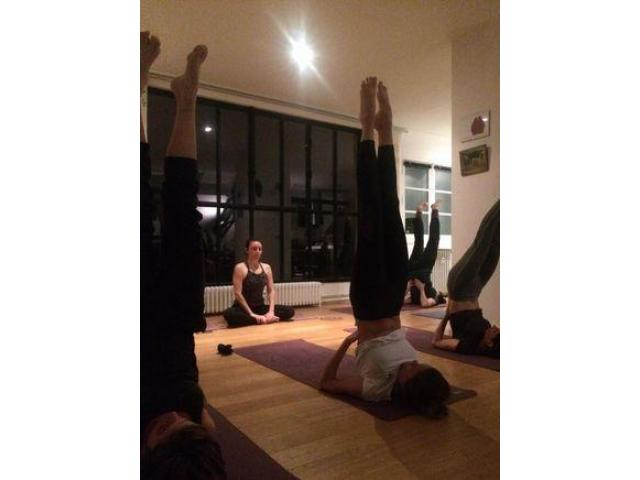 Cours de Yoga - rond point de Rennes