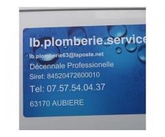 Travaux de plomberie - Clermont-Ferrand (63000)