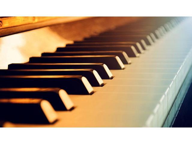 Cours de piano (classique, impro, compo) à domicile