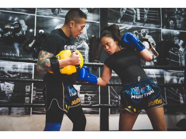 Cours boxe thai / kick boxing en salle ou à domicile
