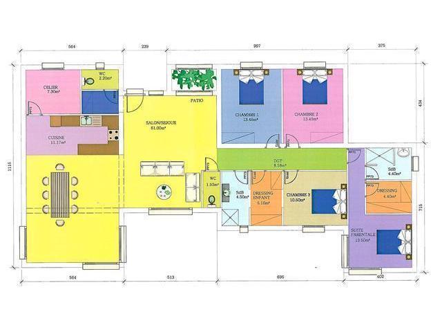 Etablissement de plans d'intérieur