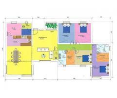 Etablissement de plans d'intérieur - Ivry-sur-Seine (94200)