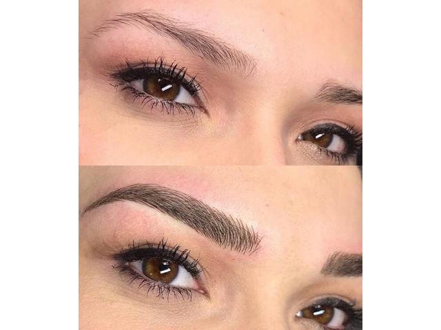 Microblading maquillage semi permanent