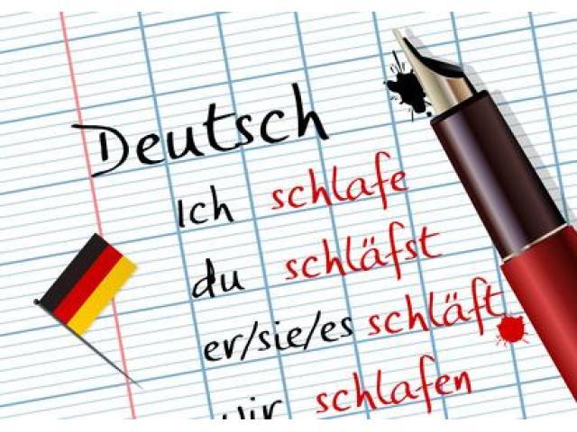 Professeur donne des cours d'Allemand