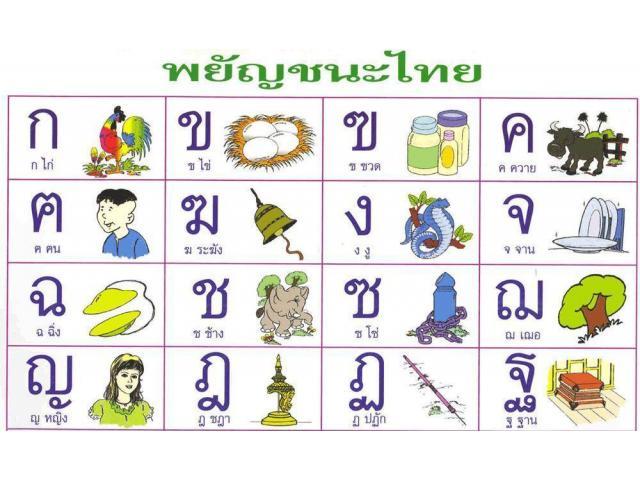 Cours particuliers de Thai