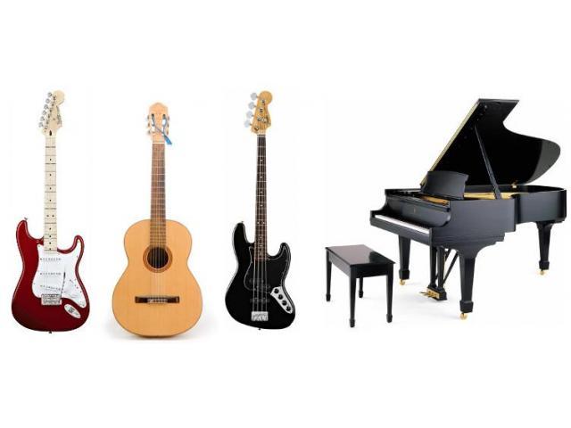 Cours de chant, piano, guitare et solfège