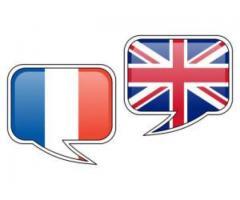 Traduction anglais vers français à distance - Paris (75012)