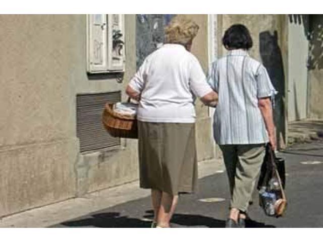 Garde de personnes âgées
