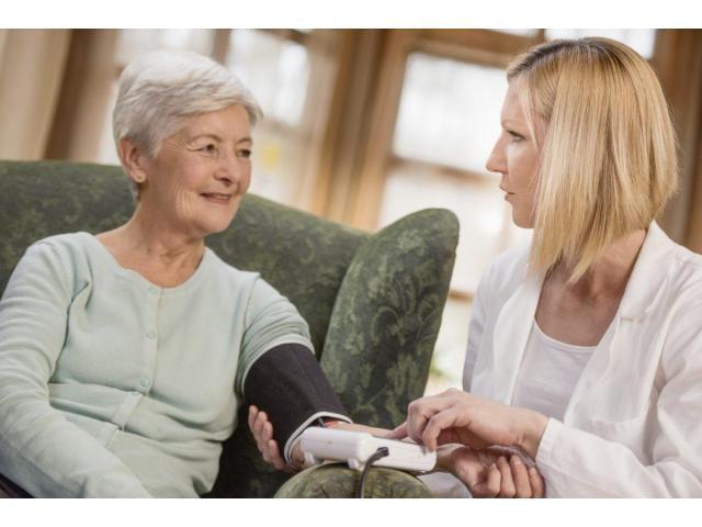 Aide soignante à domicile