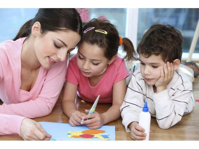 Garde d'enfants en anglais