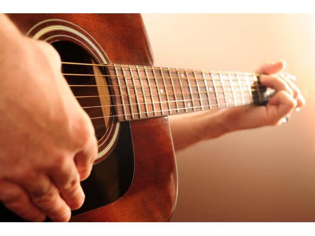 Cours de guitare en studio ou à domicile
