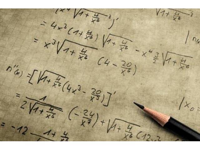 Cours intensif de maths