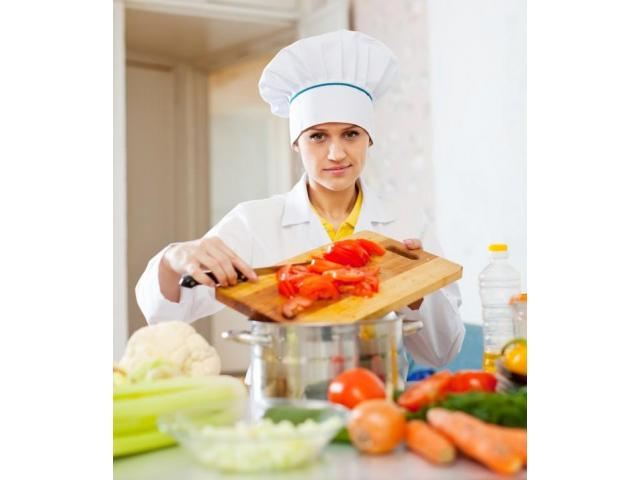 Cuisinière de plats orientaux