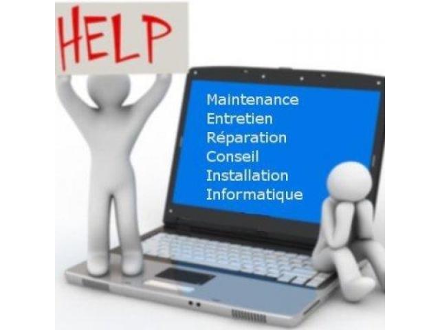 Dépannage et installation informatique