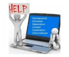 Dépannage et installation informatique à Cours-de-Pile (24520)