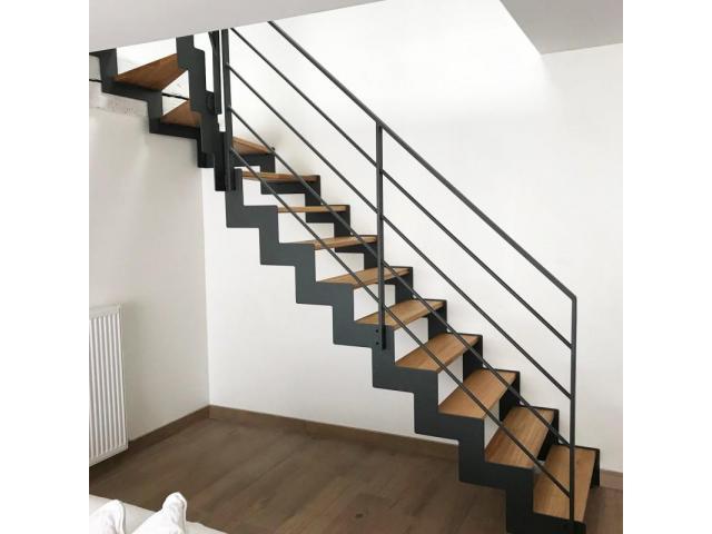 Réalisation d'escaliers métalliques