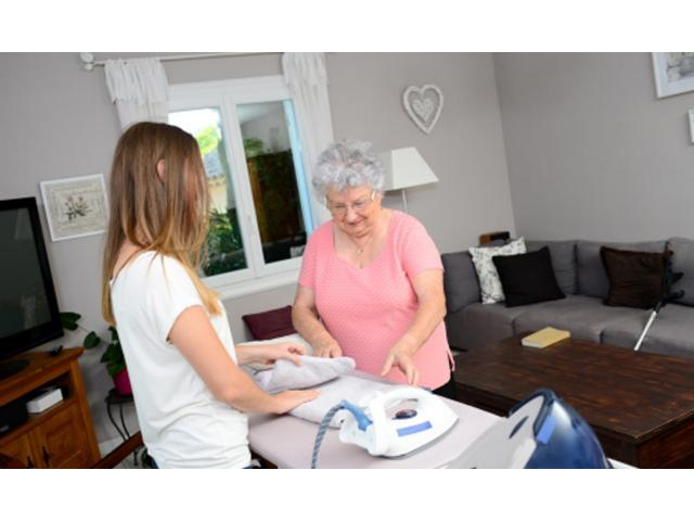 Aide à domicile pour particuliers