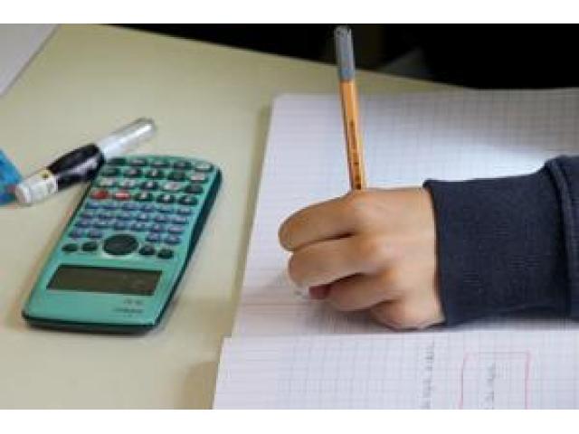 Prof donne cours de maths physique en Visio