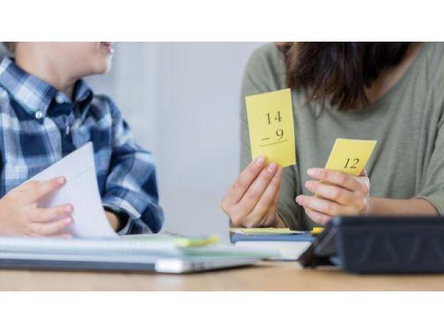 Prof donne cours de maths et PC