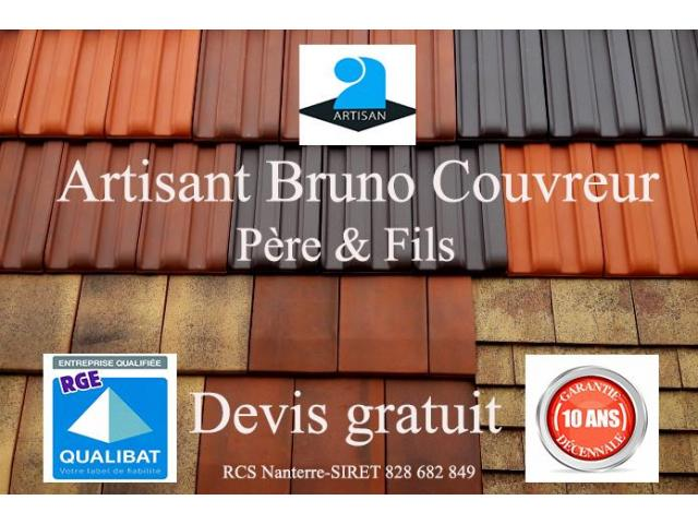 Couvreur zingueur - démoussage toiture  - Maçonnerie - DEVIS GRATUIT