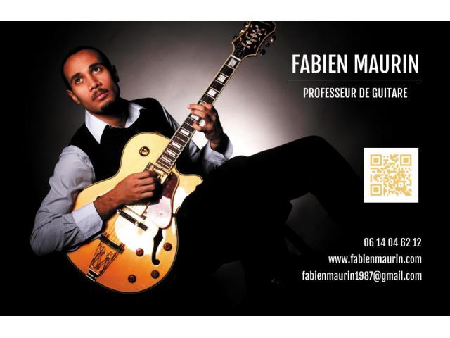 Donne cours de guitare à Nantes