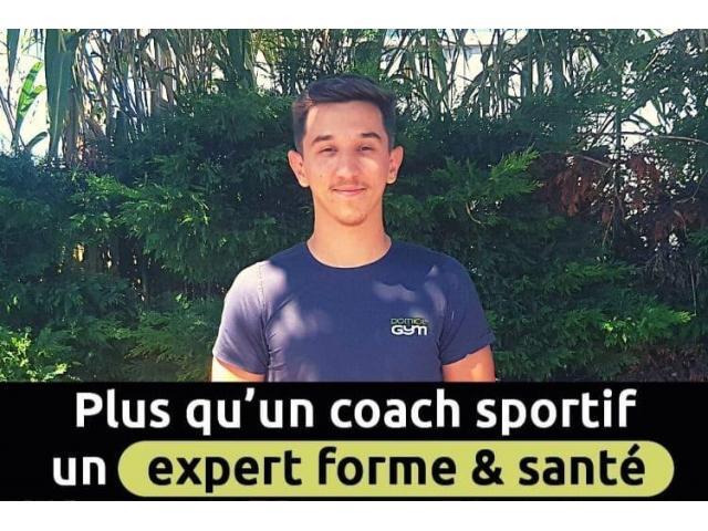 Coach sportif expert forme et santé à domicile et en entreprise Domicil'gym
