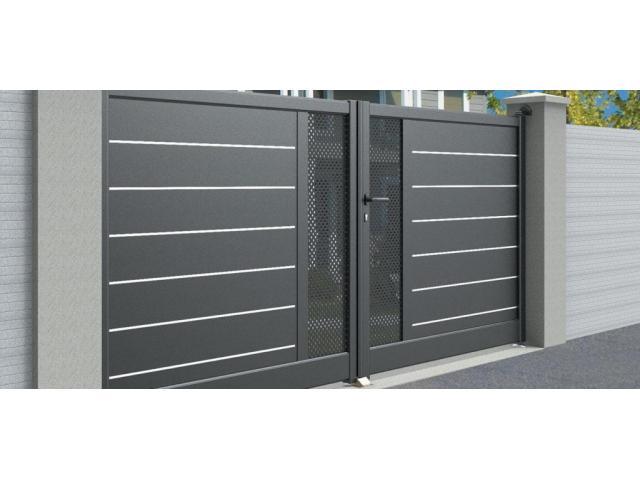 Pose: portails, clôture etc...